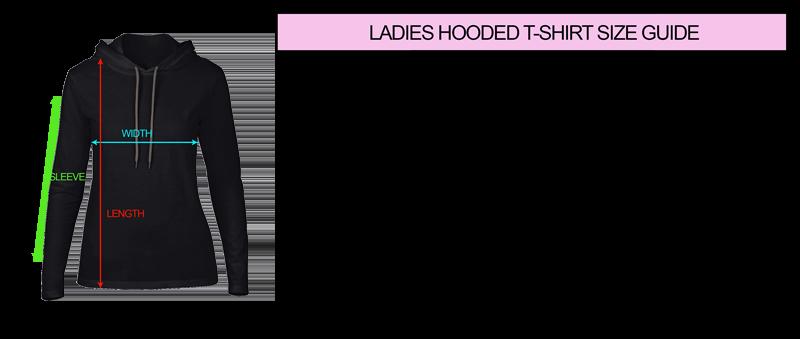 1dc2007ac0cb2 Ashura On Ladies Hooded T-Shirt - Rock Dolls   Go To Hell Clothing